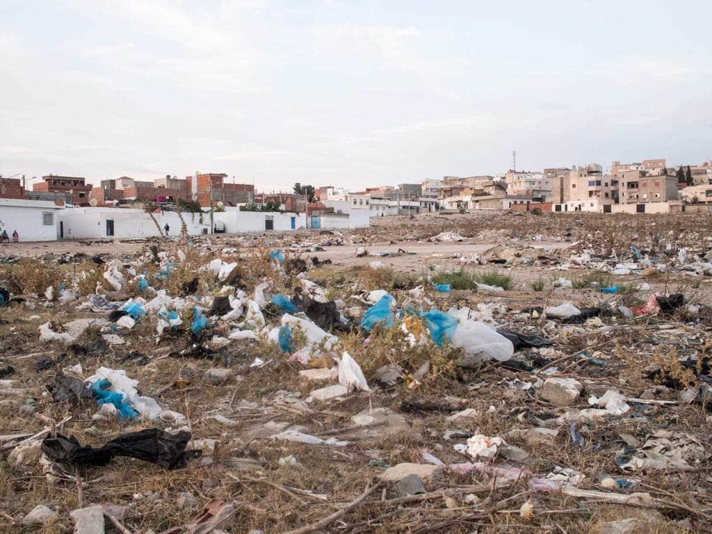 Il quartiere di Beb Jadid, Tunisi, il 5 settembre 2016. - Mauro Pagnano, Etiket Comunicazione