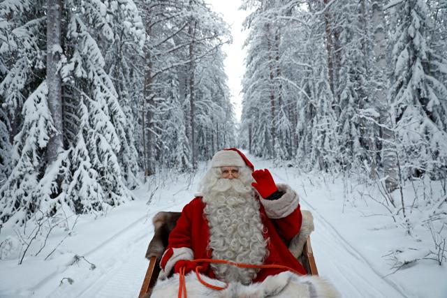 Rovaniemi Lapponia Babbo Natale.La Lapponia Di Babbo Natale Foto Internazionale