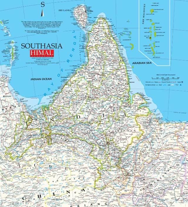 Cartina Muta Del Subcontinente Indiano.La Stampa Indipendente In Asia Perde Una Delle Sue Voci Piu Libere Marina Forti Internazionale