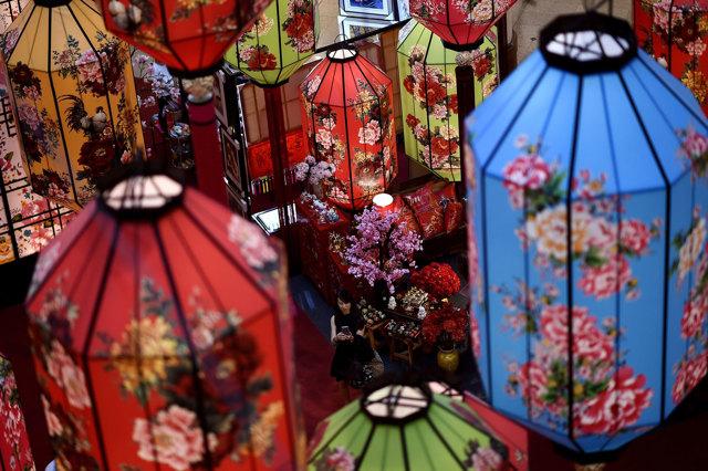 Decorazioni Con Lanterne Cinesi : Capodanno cinese con le lanterne il tirreno empoli
