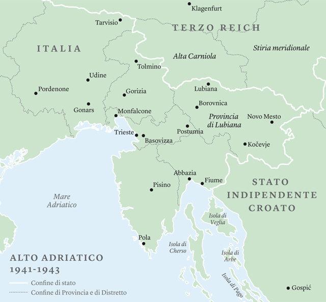Cartina D Italia 1915.La Storia Intorno Alle Foibe Nicoletta Bourbaki Internazionale