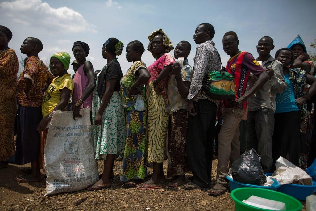 Profughi sudsudanesi ad Arua, in Uganda, febbraio 2017. - Dan Kitwood, Getty Images
