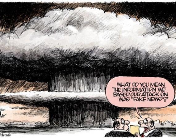 """""""Cosa vuol dire che l'informazione su cui abbiamo basato il nostro attacco è una notizia falsa?"""". - Morin, Miami Herald"""