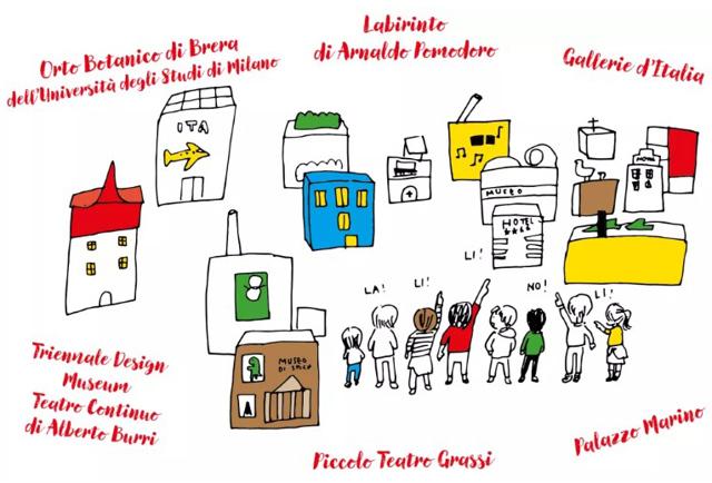 spasso per Milano con Sofia - La stanza dei grafici - Internazionale