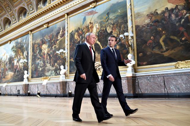 La diplomazia pragmatica di Macron con Putin