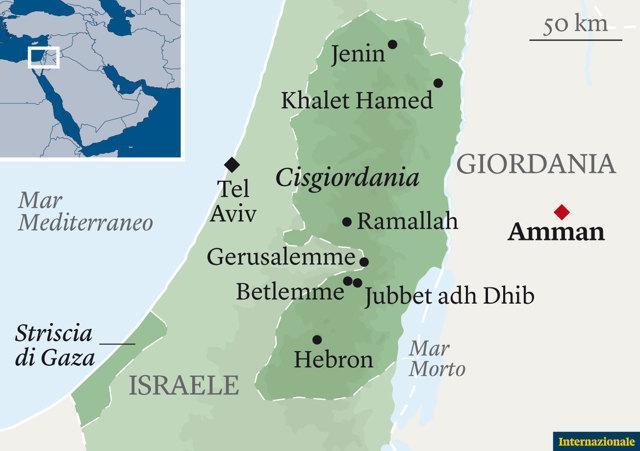 Israele E Palestina Cartina.Un Solo Stato Per Israeliani E Palestinesi Pierre Haski Internazionale