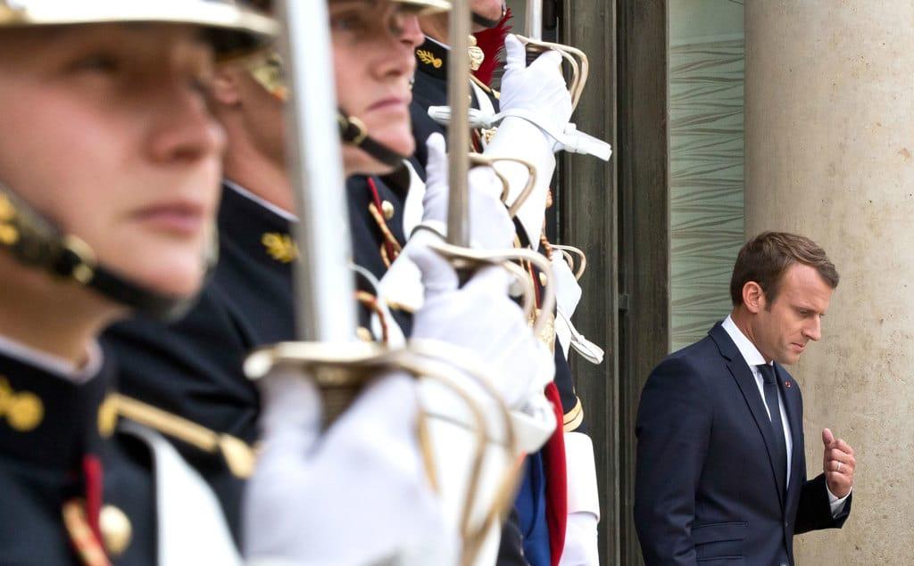 Ue, Emmanuel Macron: