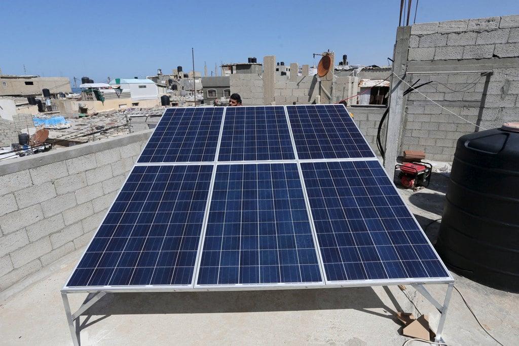 I pannelli solari restituiti amira hass internazionale for Pannelli solari immagini