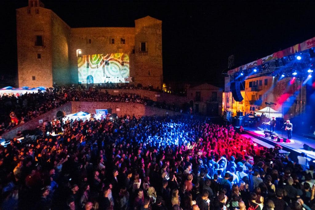 Durante il festival Ypsigrock a Castelbuono, provincia di Palermo, l'11 agosto 2017. - Roberto Panucci, Corbis/Getty Images