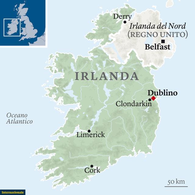 Mare D Irlanda Cartina.La Brexit S Incaglia Lungo Il Confine Irlandese Gwynne Dyer Internazionale