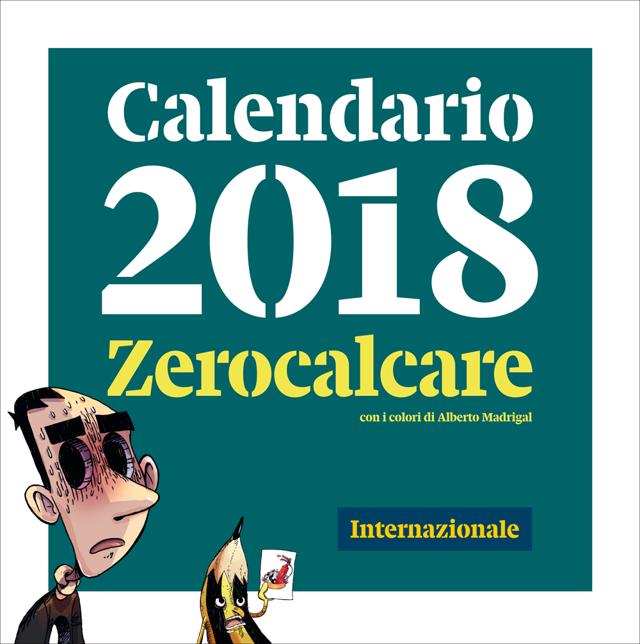 Calendario Internazionale.Un Anno Con Zerocalcare Internazionale