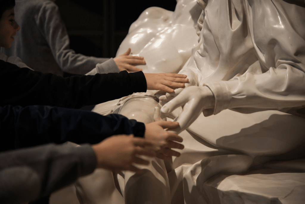 La Pietà di Michelangelo. - Luna Simoncini