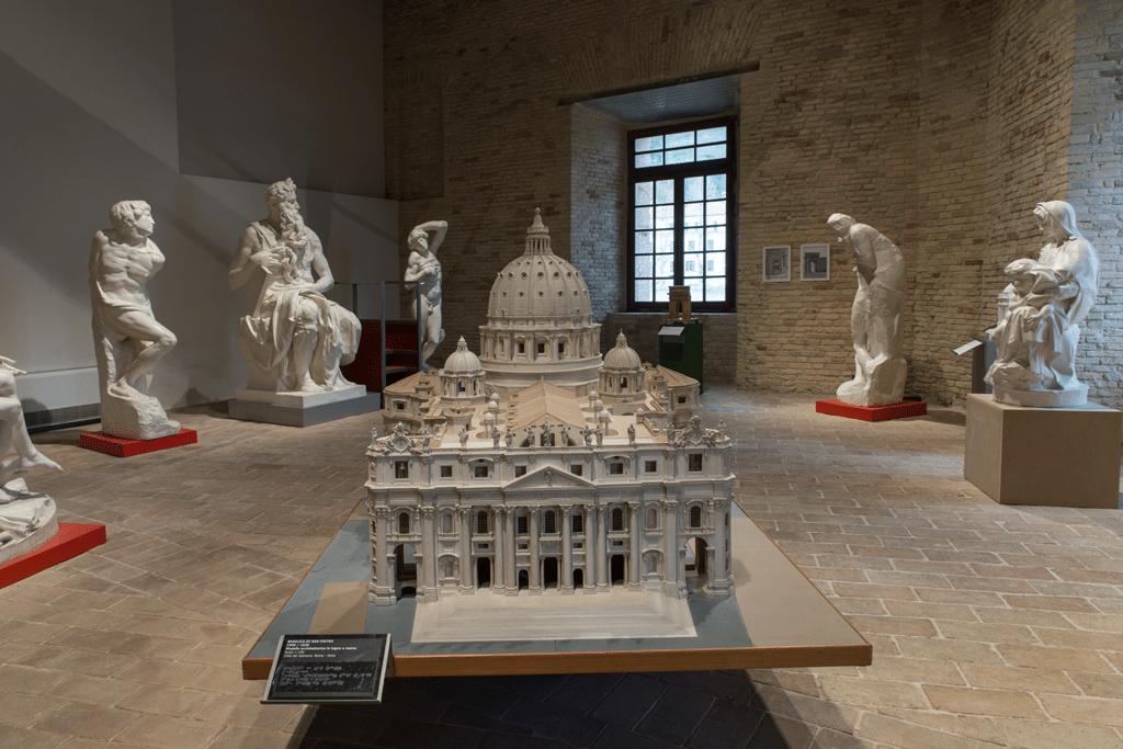 Il modello della basilica di san Pietro. - Luna Simoncini
