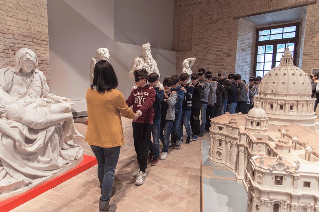 Una sala del museo. - Luna Simoncini
