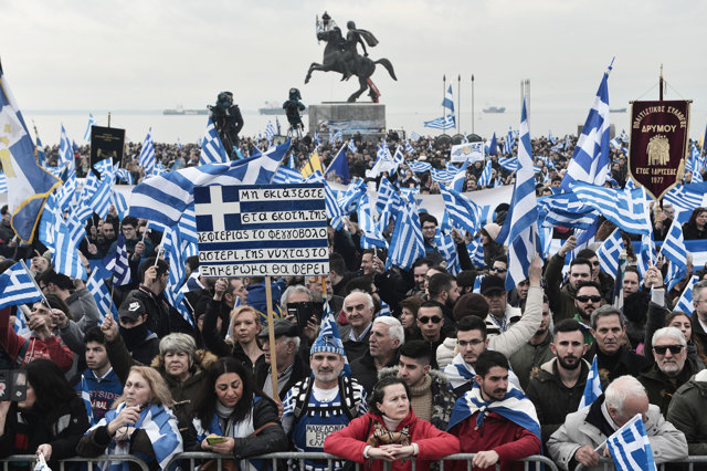 La guerra dei nomi in Macedonia