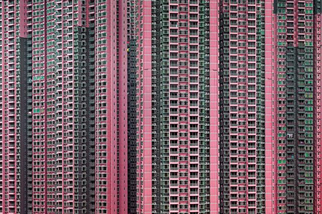 Le metropoli viste da Michael Wolf