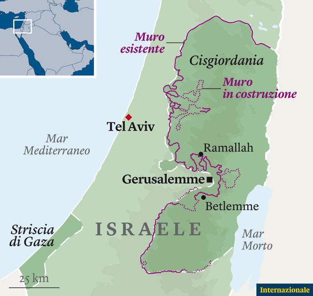 Cartina Fisica Dell Israele.La Strada Tra I Checkpoint Ted Conover Internazionale