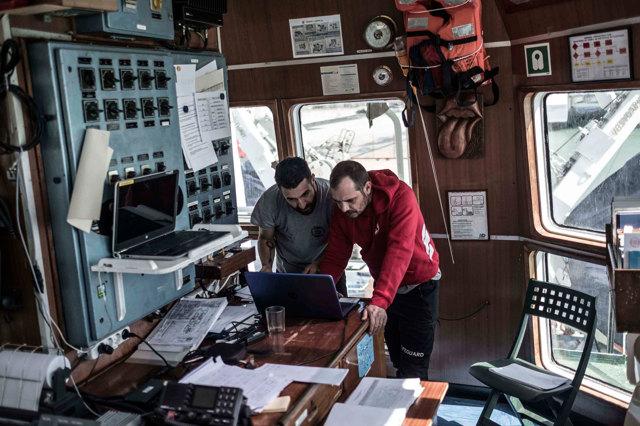 Una battaglia navale vista dalla cucina della Open Arms