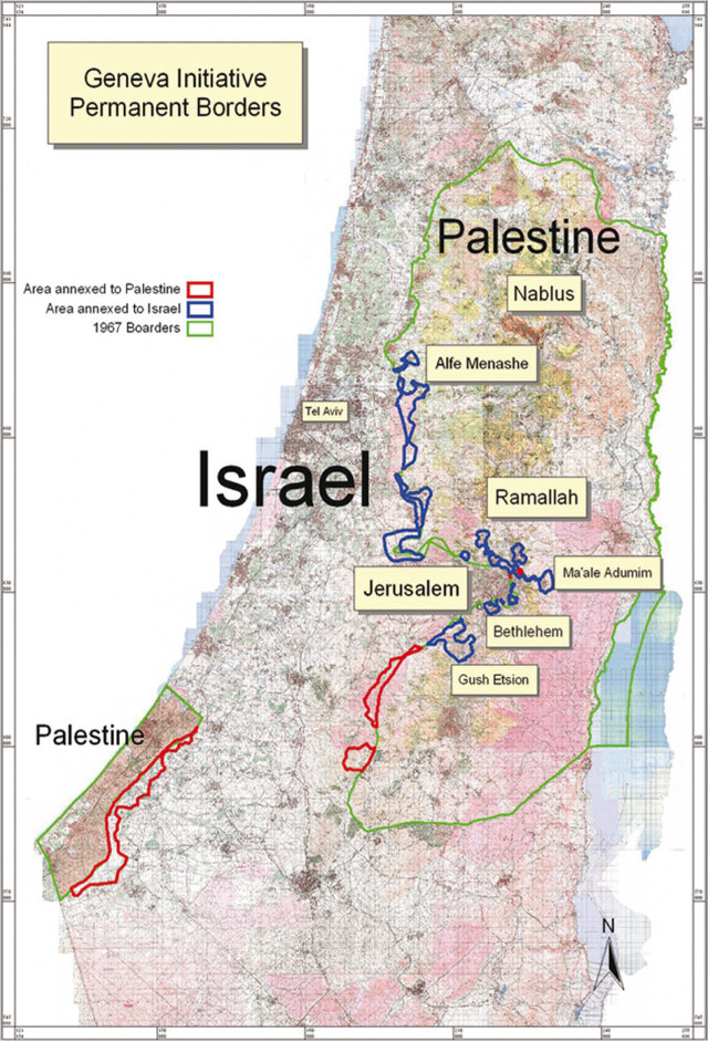 Stato Di Israele Cartina Politica.Le Mappe Della Pace Shari Motro Internazionale
