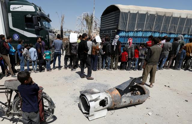 Lo scetticismo della stampa siriana per l'intervento occiden