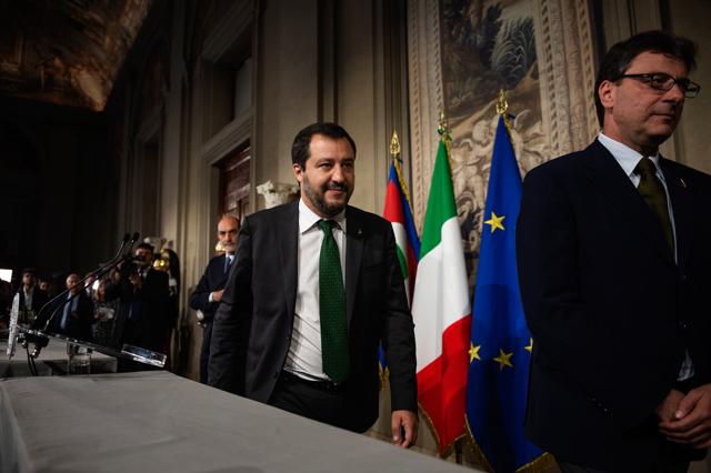 Il nuovo governo italiano è la tempesta perfetta per l'Europ