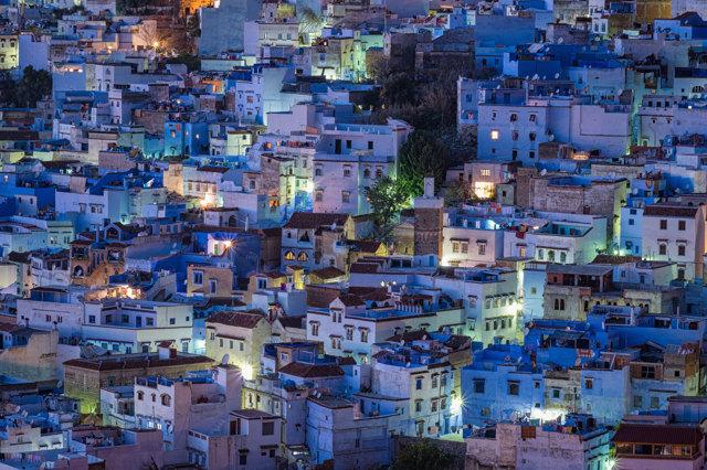 Case Blu Marocco : Due giorni a chefchaouen la città blu del marocco giulia testa