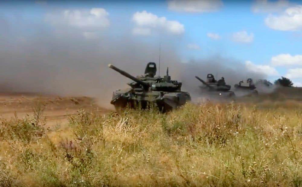 Le esercitazioni militari in Siberia durante Vostok 2018, l'11 settembre 2018. - Russian Defense Ministry Press Service/Ap/Ansa