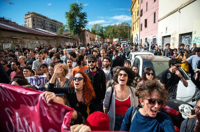 San Lorenzo non vuole dividersi sulla morte di Desirée Mariottini