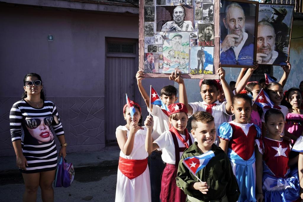 Un evento per ricordare la rivoluzione cubana del 1959 all'Avana, 8 gennaio 2019. - Sven Creutzmann, Mambo photo/Getty Images