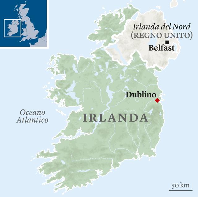 Cartina Politica Dell Irlanda.L Irlanda Del Nord E La Nuova Vittima Di Boris Johnson Gwynne Dyer Internazionale