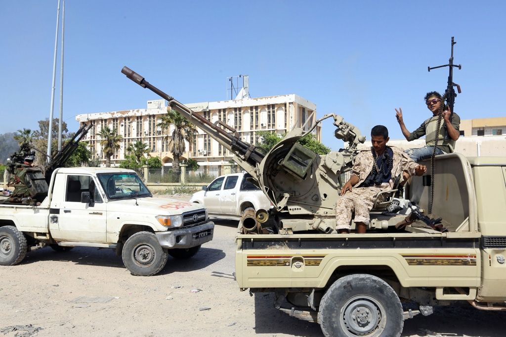 Il presidente Usa ha dato via libera ad Haftar per attaccare Tripoli