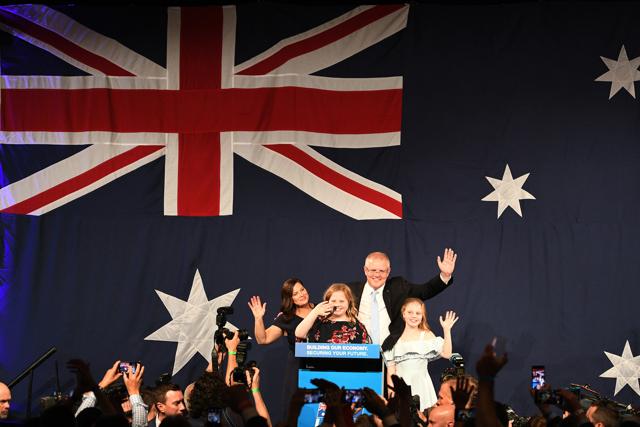 In Australia a sorpresa i conservatori vincono ancora