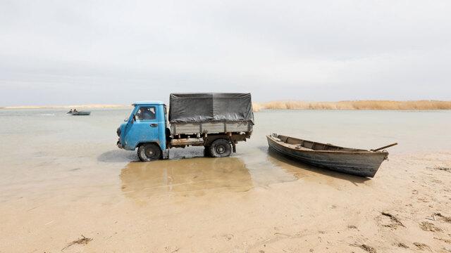 Come il lago d'Aral rinasce dal deserto