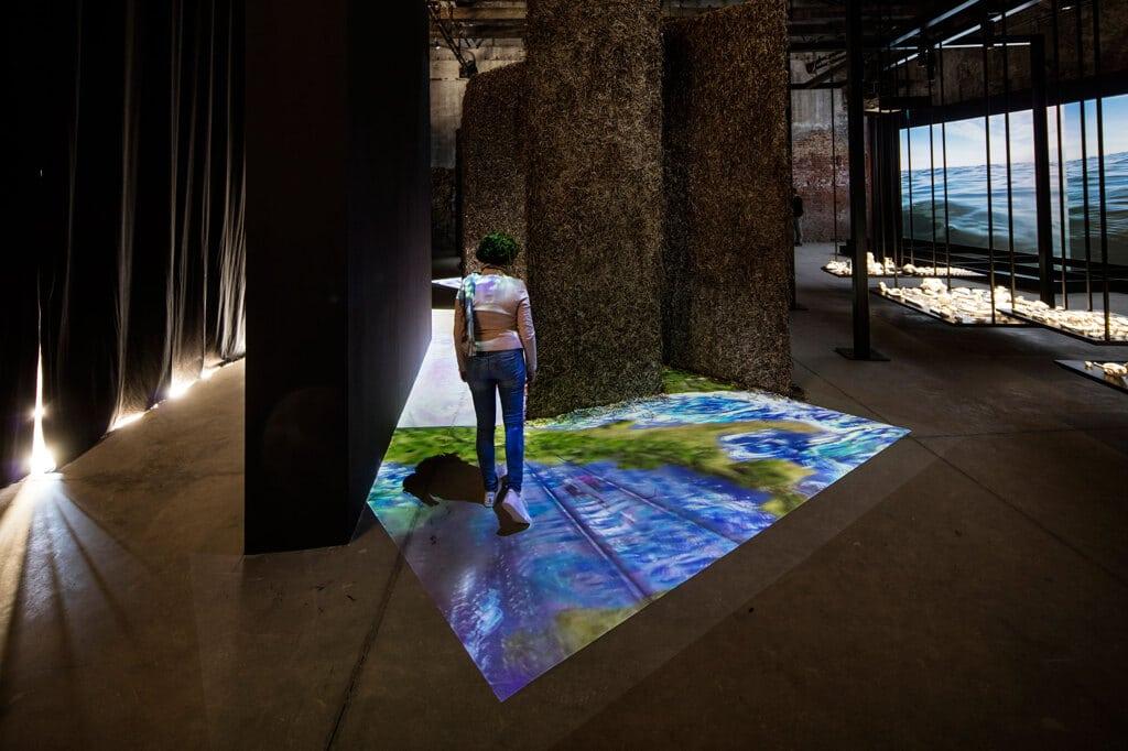 Il padiglione di Malta alla Biennale d'arte di Venezia 2019. - David Levine
