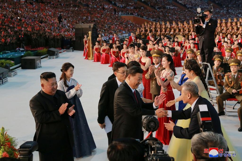 Corea Nord: Xi Jinping è arrivato a Pyongyang