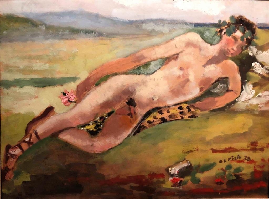 Il bacchino, 1928. - Filippo de Pisis, Collezione Claudio Cervini