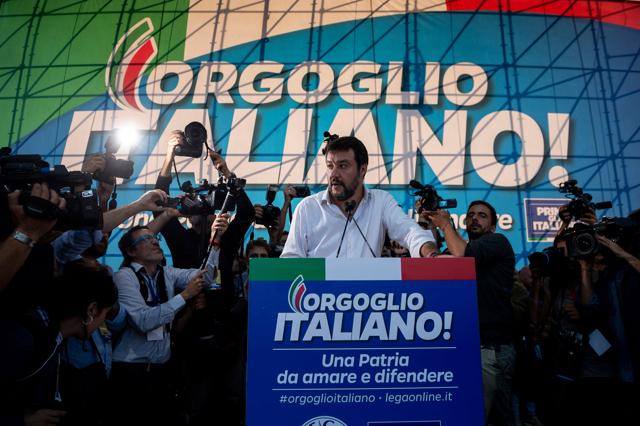 Matteo Salvini attacca Virginia Raggi e punta su Roma
