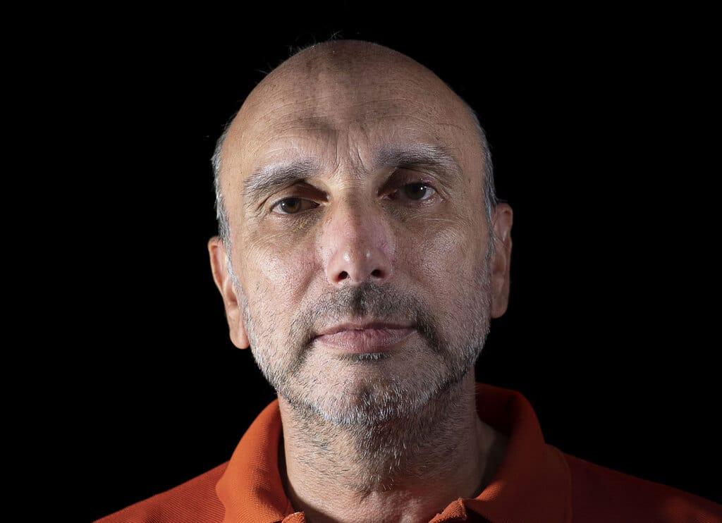 Valerio Taglione, 50 anni, Aversa, provincia di Caserta. Ha un tumore ai polmoni.  - Mauro Pagnano