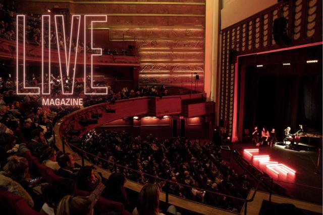 Live Magazine, un giornale dal vivo