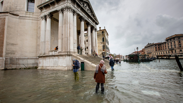 La fragilità di Venezia non dipende dalla natura