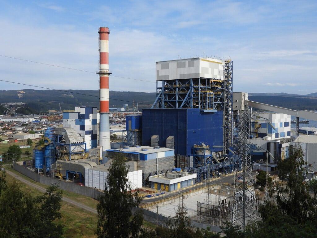 La centrale di Bocamina, a Coronel, novembre 2019. - Marina Forti