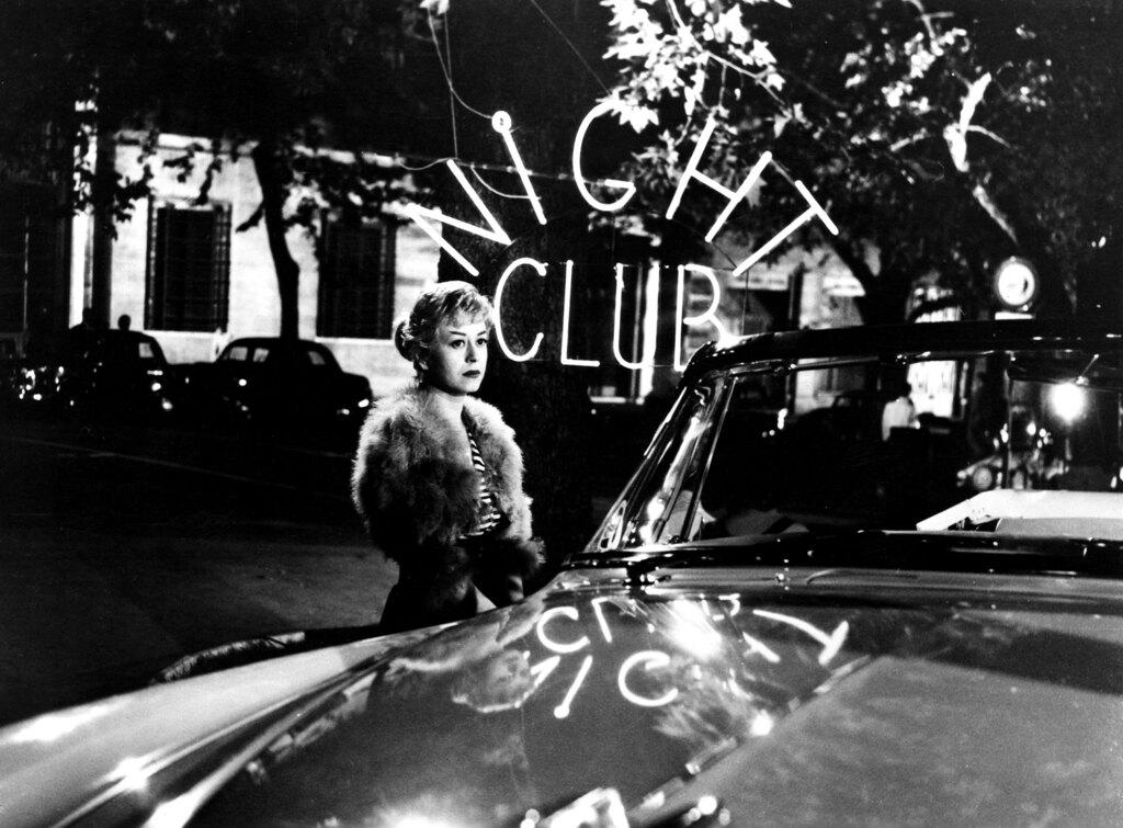 Giulietta Masina in Le notti di Cabiria, 1957. - Everett/Contrasto