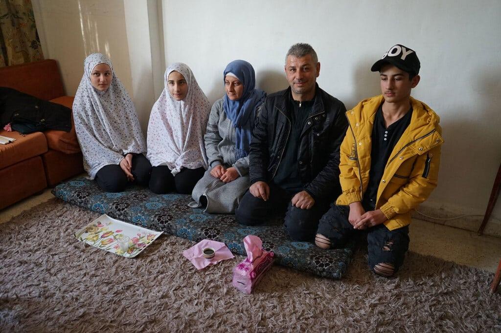 La famiglia Khoja a Nabaa, Beirut, 28 gennaio 2020. - Annalisa Camilli