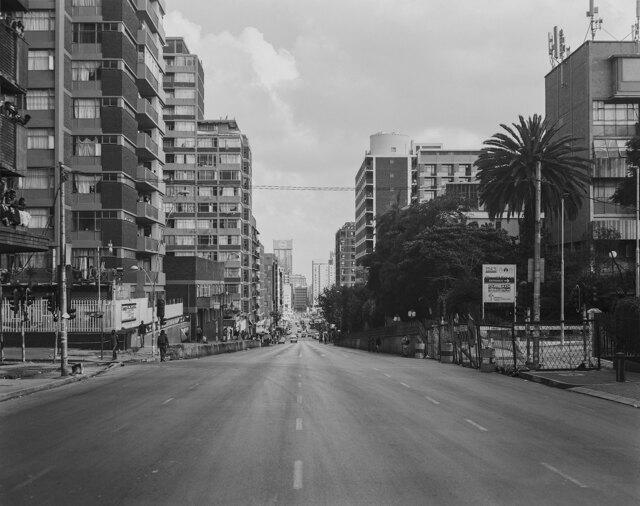Fotografare il silenzio di Johannesburg