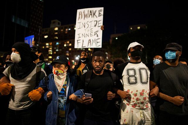 Le proteste negli Stati Uniti