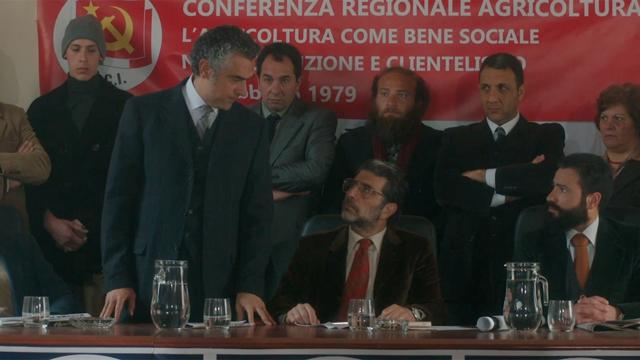 Aurelio Grimaldi racconta una scena di Il delitto Mattarella
