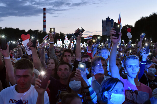 La Bielorussia va al voto in un clima di repressione