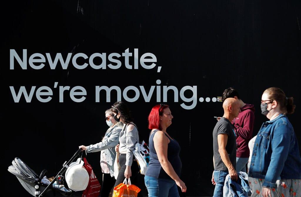 Newcastle Regno Unito 17 settembre 2020