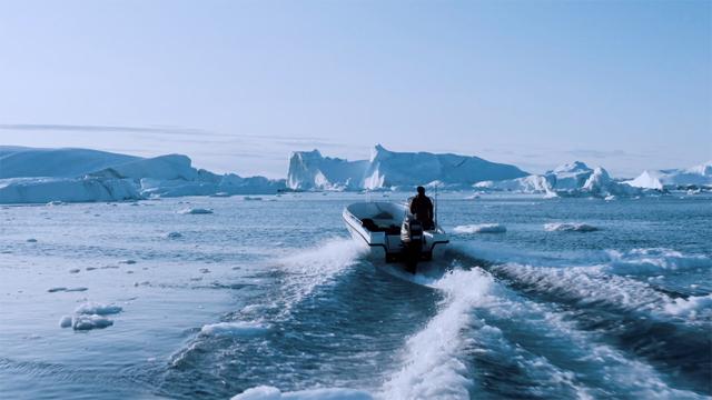La crisi climatica vista dagli iceberg della Groenlandia