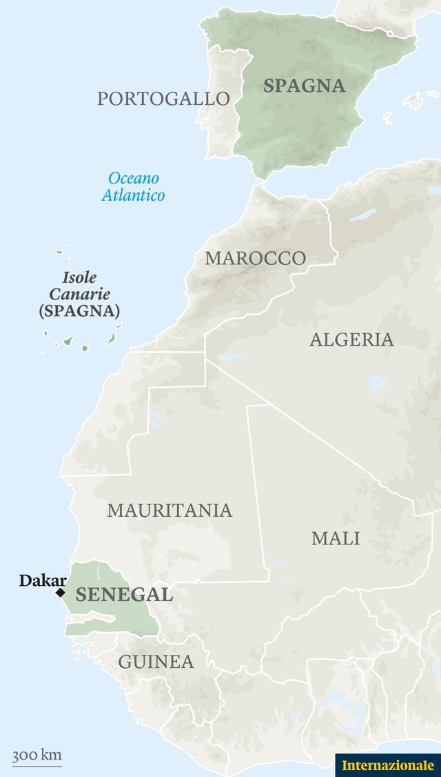 Cartina Spagna E Isole Canarie.Il Sogno Europeo Di Chi Parte Dall Africa Si Ferma Alle Canarie Internazionale